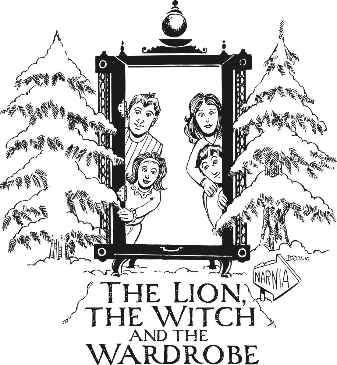Lion, Witch, Wardrobe Unit $2 Confessions of a