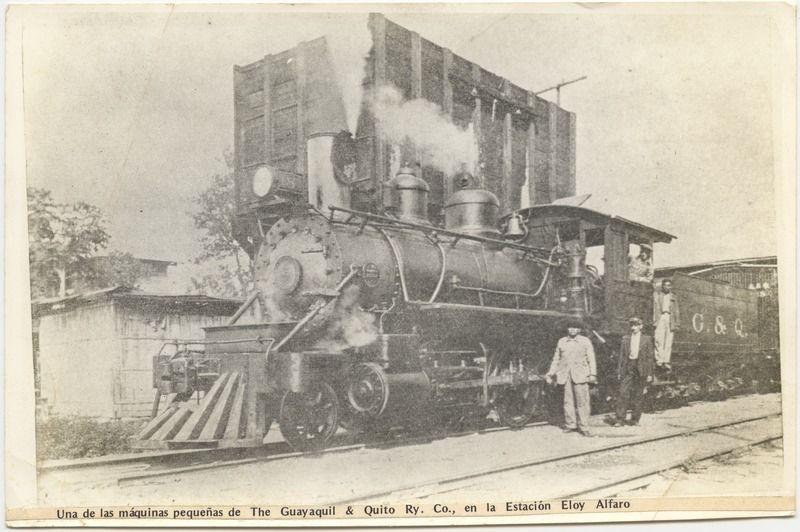 Ferrocarril En La Estacion Eloy Alfaro Duran Con Imagenes