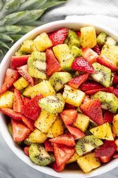 The Best Summer Fruit Salad  This winning combination of fruits drizzled with a ...  The Best Summer Fruit Salad  This winning combination of fruits drizzled with a lemon poppy seed dressing makes the best summer fruit salad you'll ever have! #summerfruitsaladrecipe #fruitsalad #salad    This image has get 1 repins.    Author: Ildiko Lenard-Hansen     This image has get 0 repins.    Author: Sylvia Lemann #combination #Drizzled #Fruit #Fruits #Salad #Summer #winning