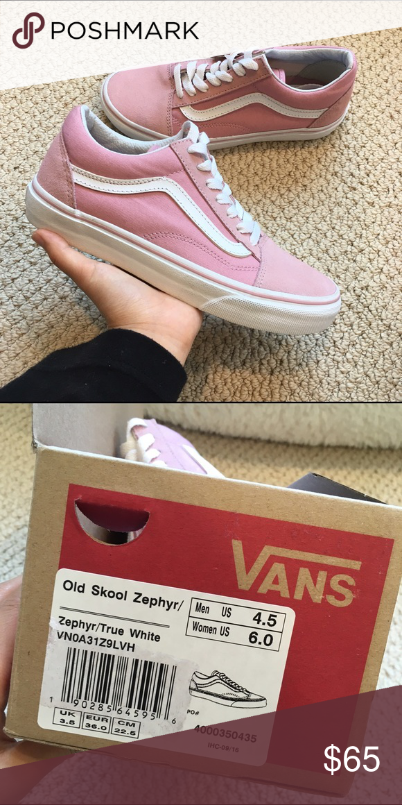 c7bd1c698b29 Vans Pink Suede Old Skool Sneakers Brand new with tag in box