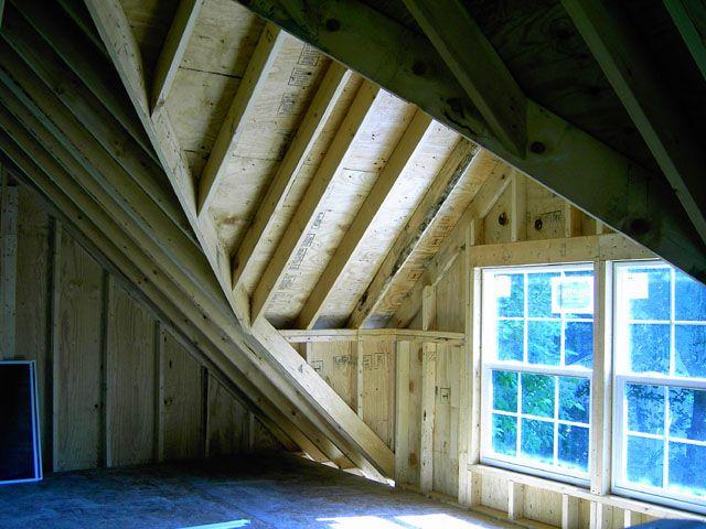 Custom Garage Features Blue Sky Builders Dormers Hip Roof Attic Rooms