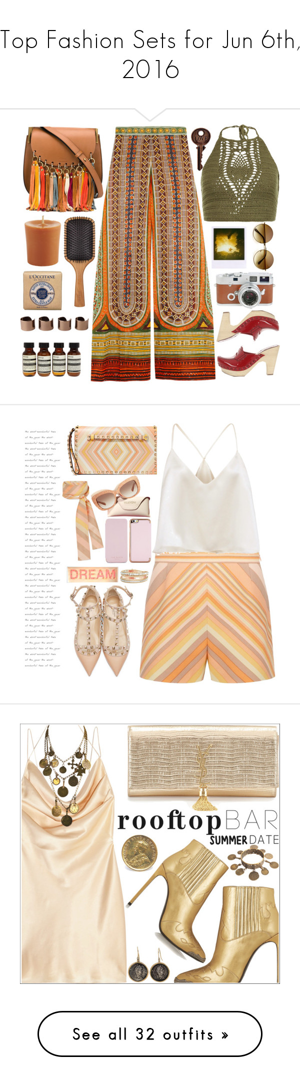 """""""Top Fashion Sets for Jun 6th, 2016"""" by polyvore ❤ liked on Polyvore featuring Valentino, Miu Miu, Chloé, New Look, Aveda, Pier 1 Imports, L'Occitane, Aesop, Maison Margiela and Leica"""