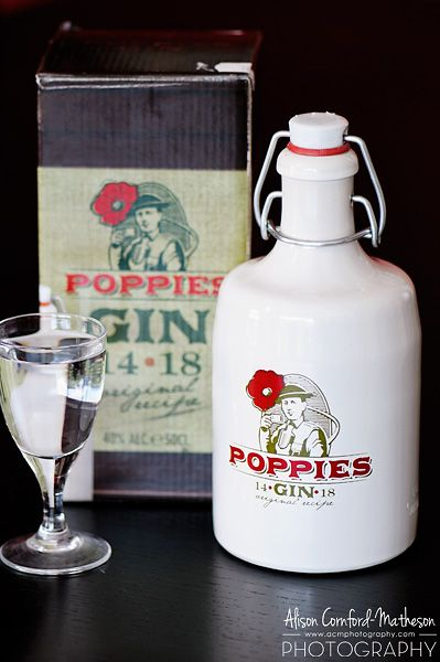 """Rubbens distillery, in Zele, still produces Poppies Gin, which was """"beloved by British soldiers."""""""