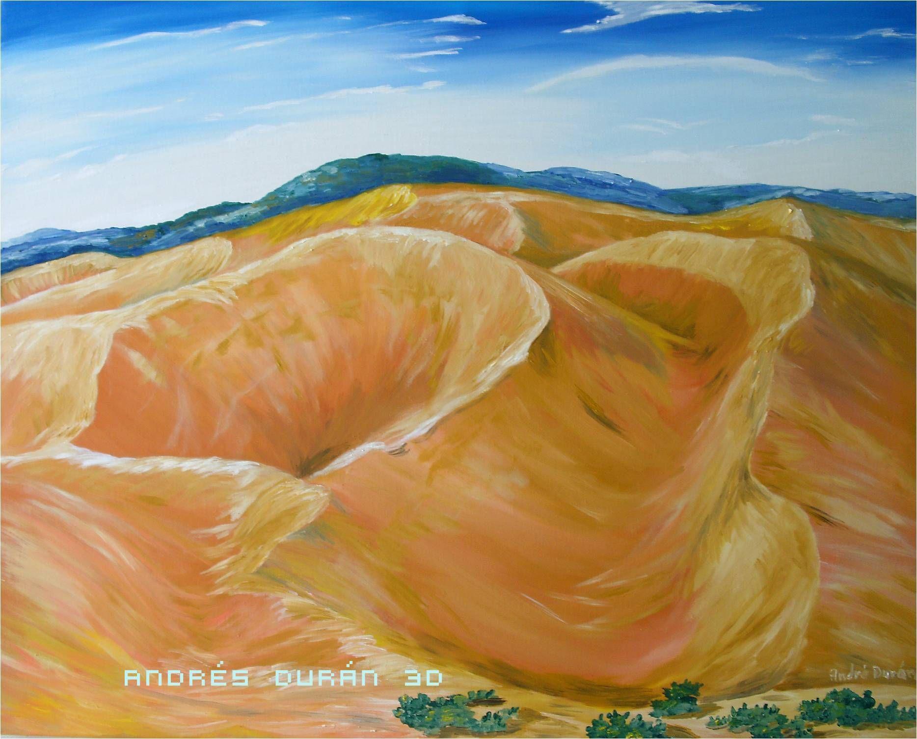 salto angel pintura oleo sobre tela 102cm x 82cm pinturas médanos de coro pintura oleo sobre tela 102cm x 82cm