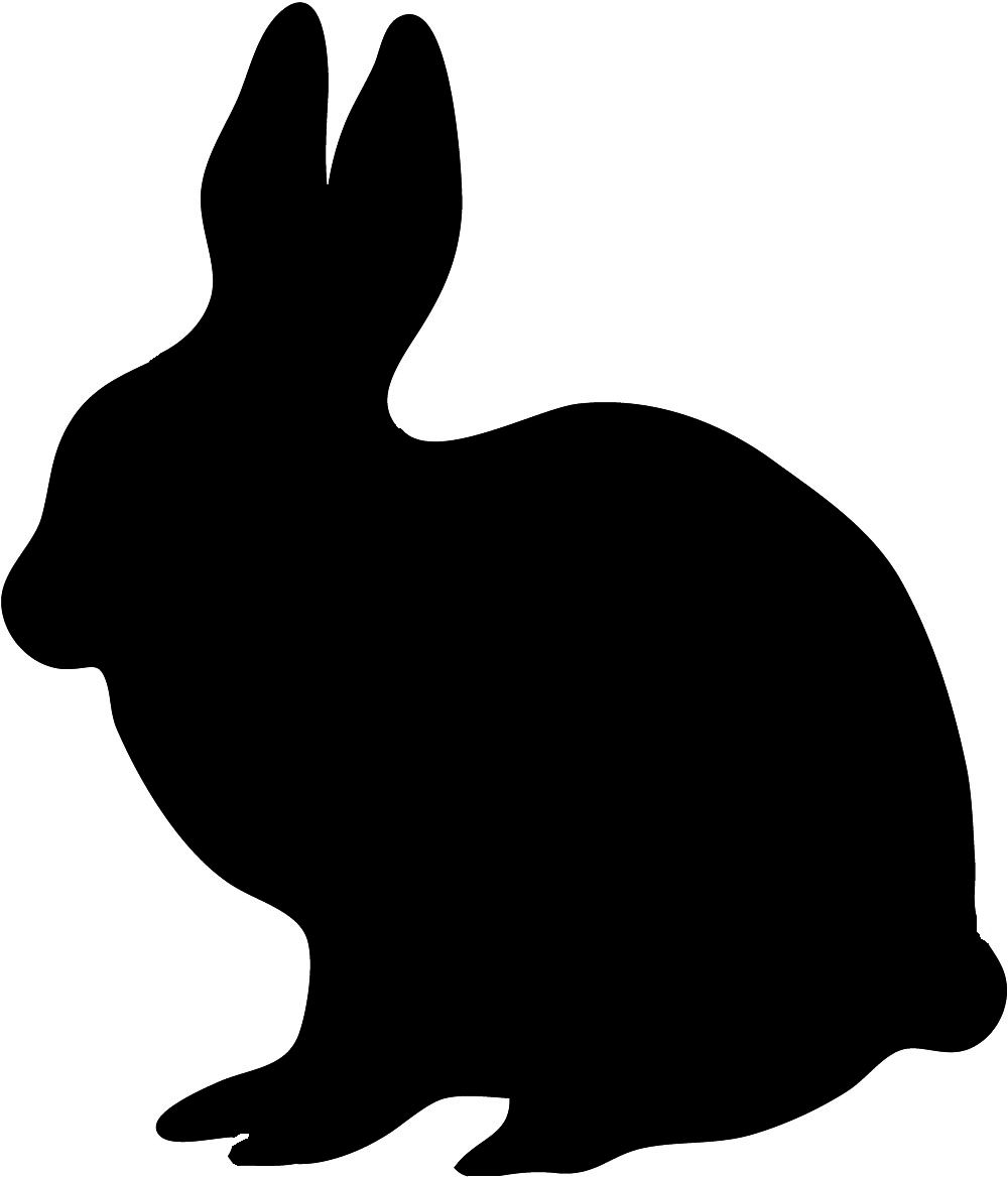 animal silhouette clip art for shadow puppet show  [ 1000 x 1169 Pixel ]