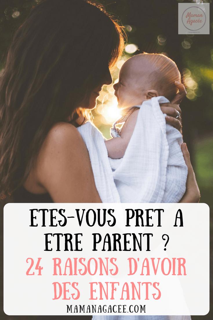 24 Bonnes Raisons D Avoir Des Enfants Maman Agacee Enfant Maman Papa Bebe