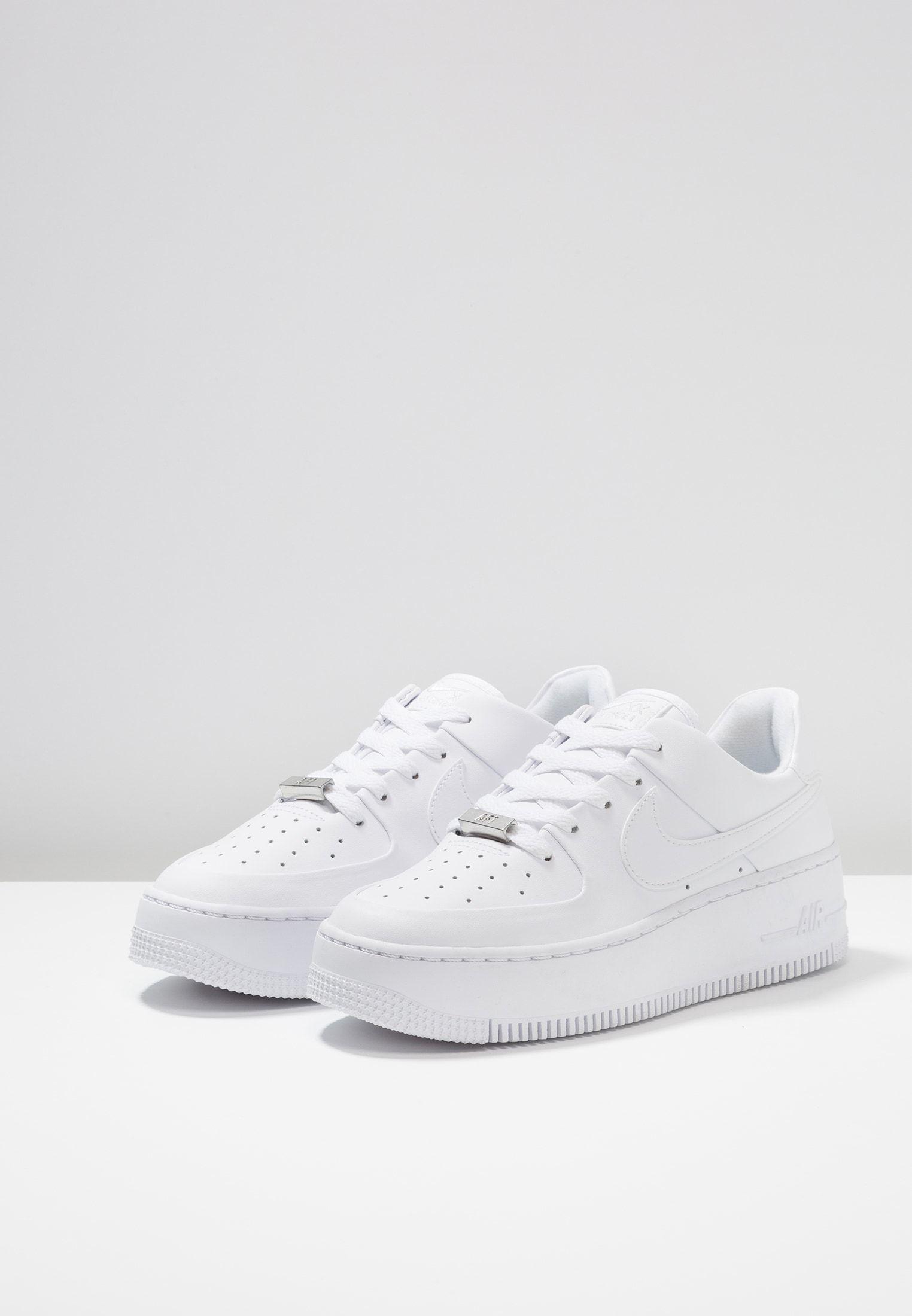 AIR FORCE 1 SAGE - Sneaker low - white @ Zalando.de ...
