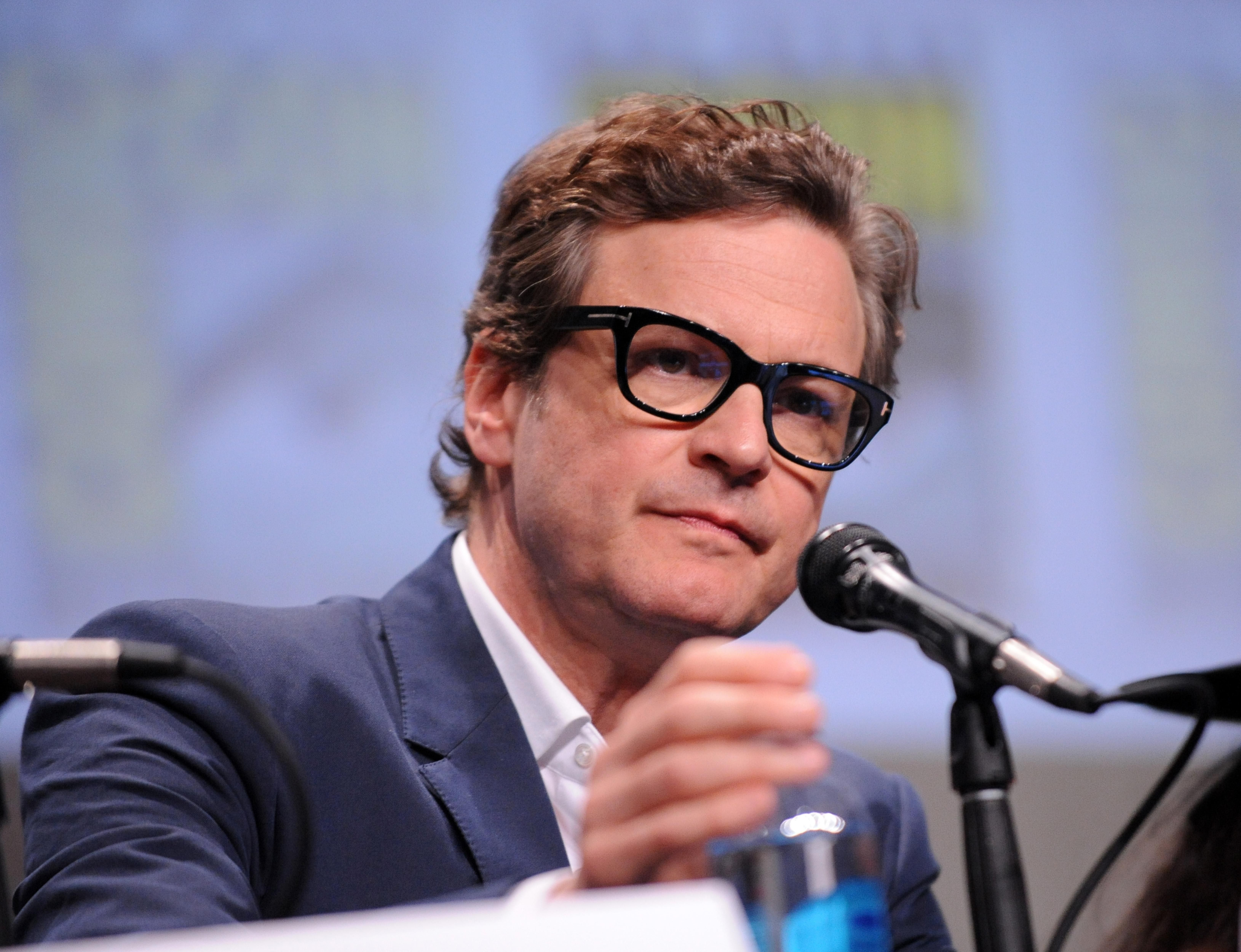 Kingsman: The Secret Service /// Colin Firth /// Comic-Con International 2014 at San Diego Convention Center on July 25, 2014