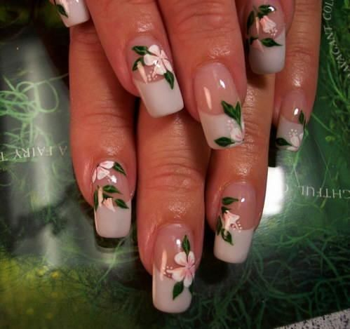 Pictures Of Nail Designs With Flowers Nail Art Pinterest Nail