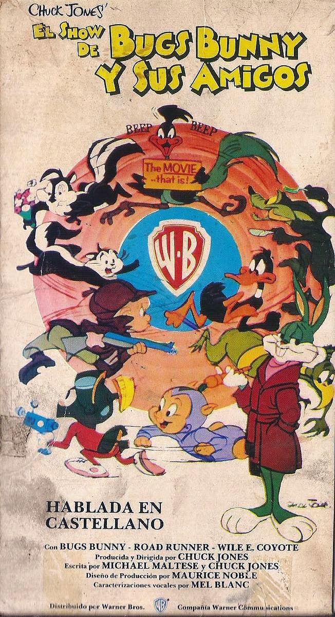 the bugs bunny roadrunner movie 1979 vhs