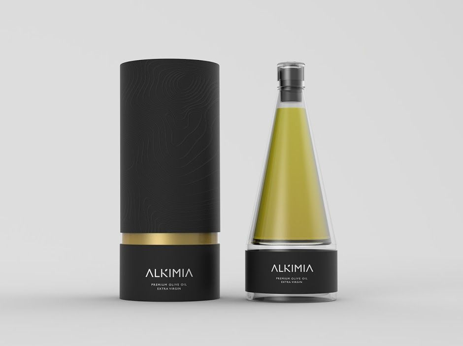 ALKIMIA Premium Olive Oil (Student Project) on Packaging of the World - Creative Package Design Gallery