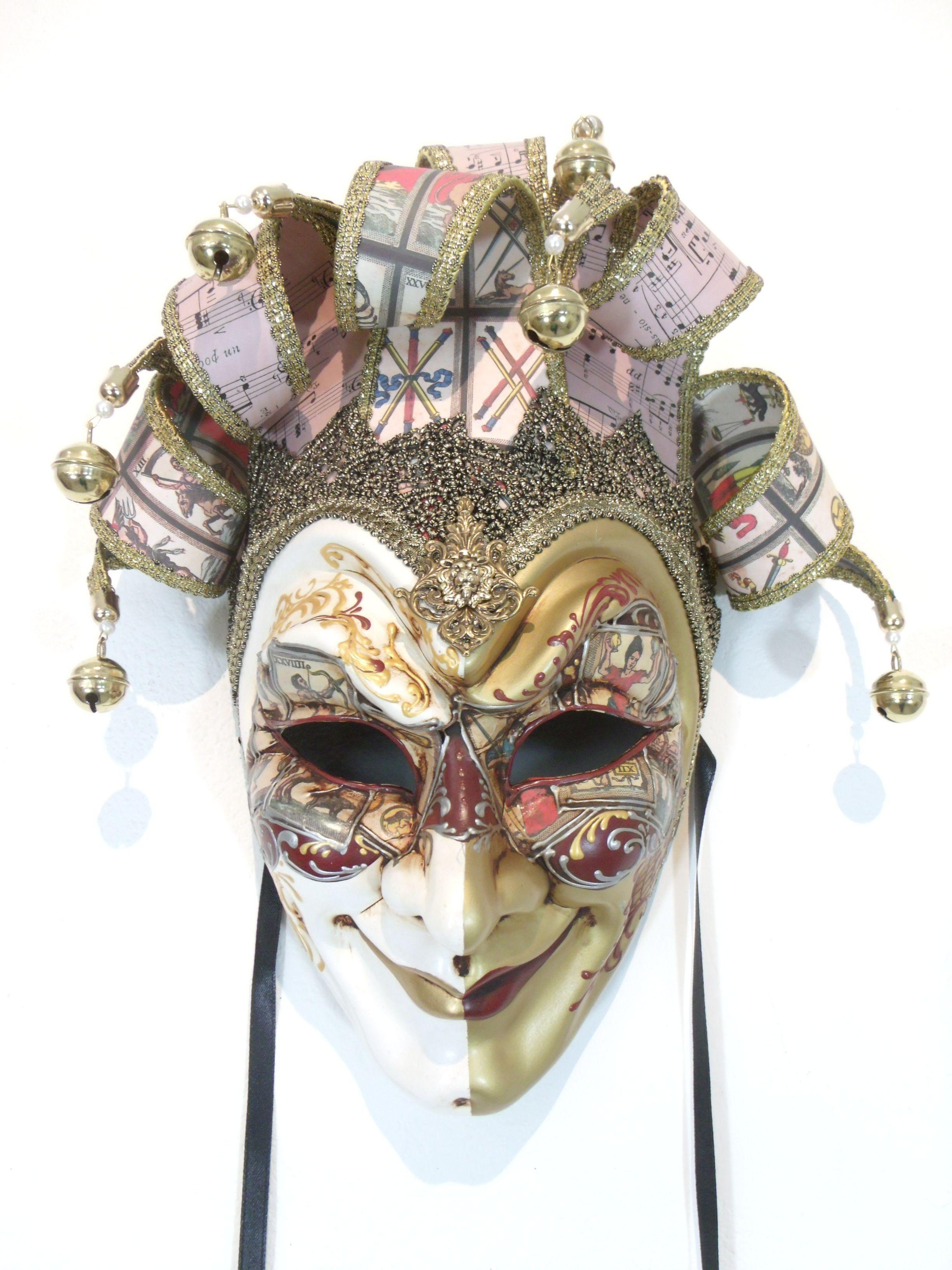 Tarot Card Joker Mask Www.venicebuysmasks.com
