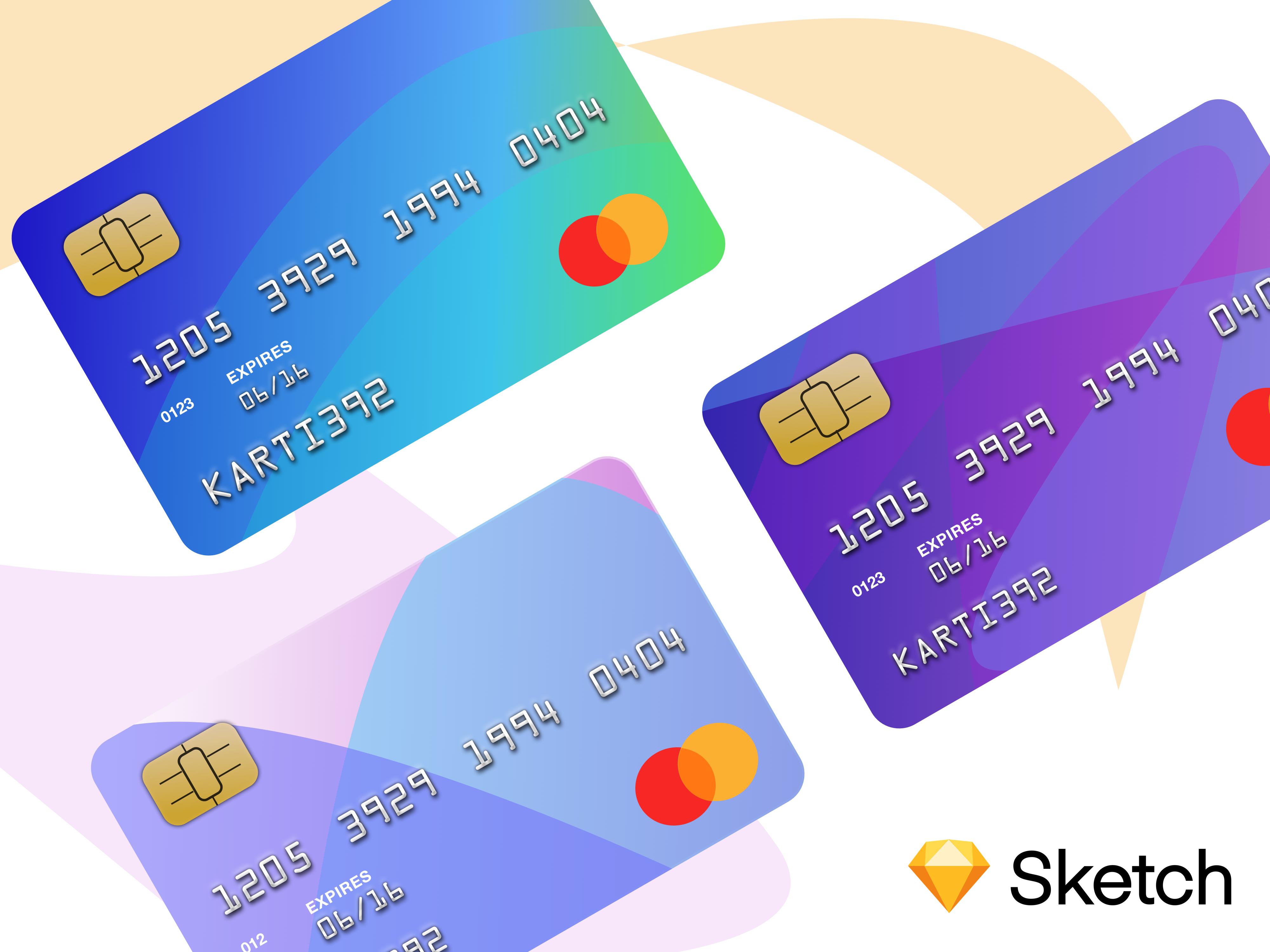 Credit Card Template Sketch Freebie Card Template Templates Free Design Templates