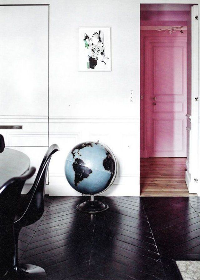 Parquet Peint : Toutes Nos Inspirations Pour Peindre Un Parquet