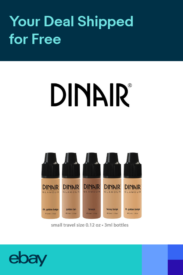 Dinair Airbrush Makeup Foundation Mini Glamour Set