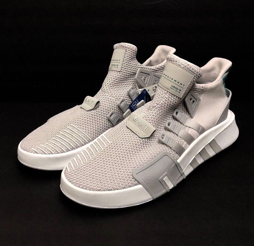 182b903a Adidas Originals EQT Bask ADV 91/18 Grey One CQ2995 Equipment Mens Shoes Sz  12 #adidas #AthleticSneakers