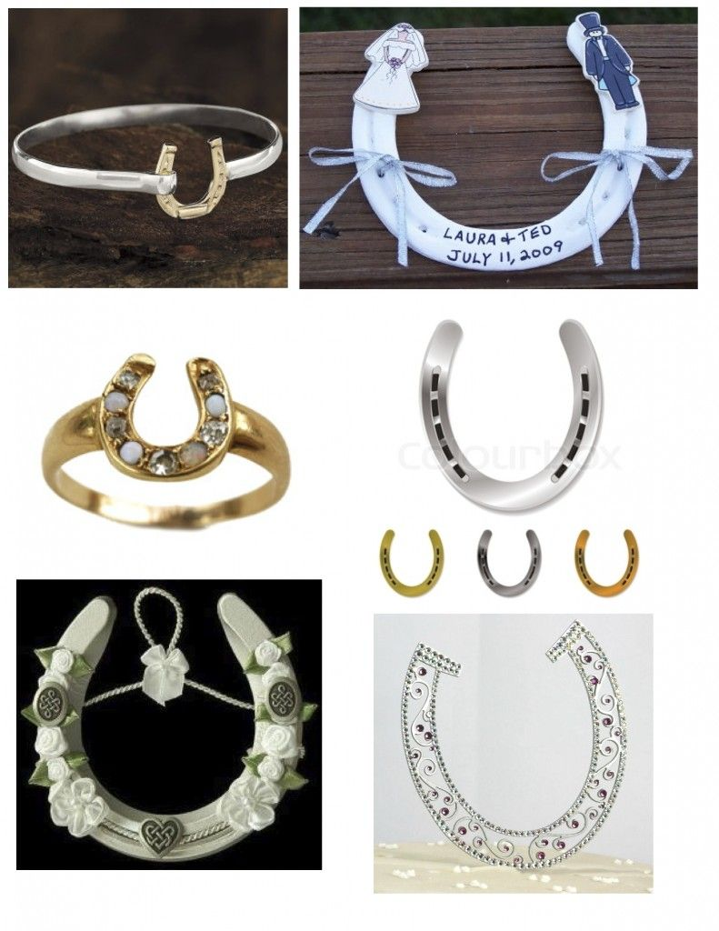 Irish Wedding Traditions Horse Shoe Supposed To Put It In The