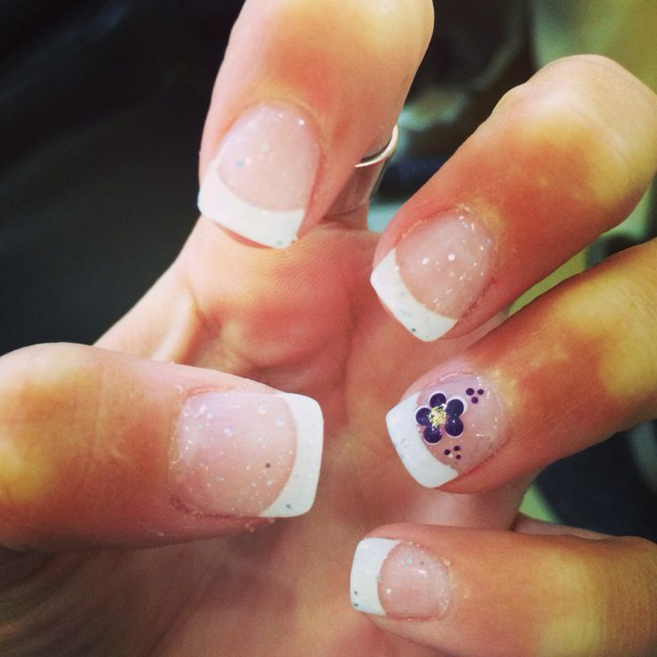 Nail Design For French Manicure - http://www.mycutenails.xyz/. French Tip  Acrylic ... - Nail Design For French Manicure - Http://www.mycutenails.xyz/nail