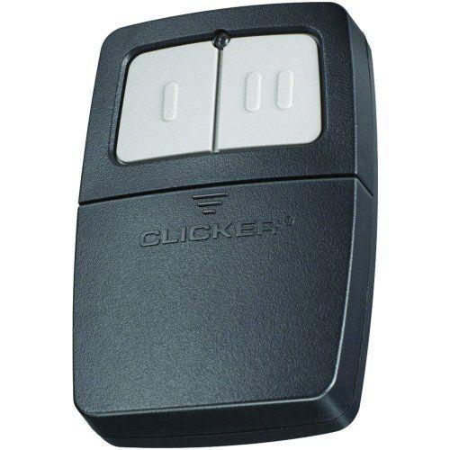 Chamberlain Klik1u Clicker Transmitter Universal Garage Door Remote Control By Garage Door Opener Remote Garage Door Installation Universal Garage Door Remote