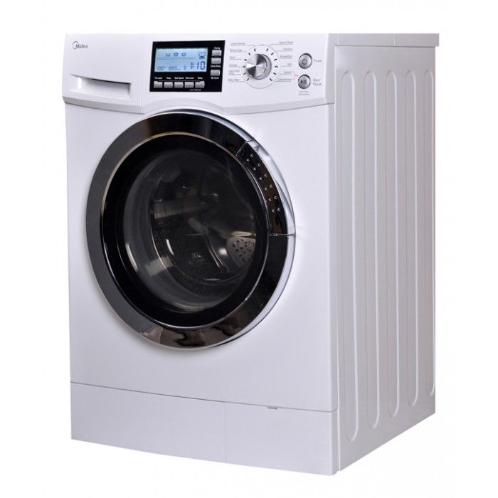 Midea MFL70 D1211S, White-Fast Dry Ventless Combo Washer Dryer,15lbs