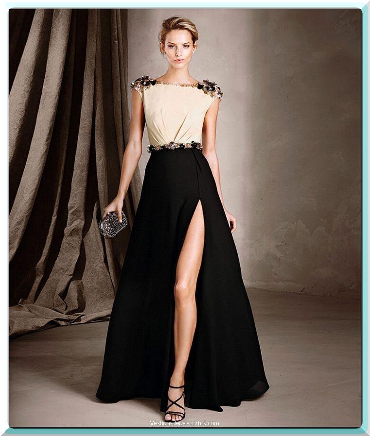 Modelos de vestidos fiesta noche