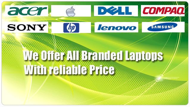 Green Online Shop Laptops