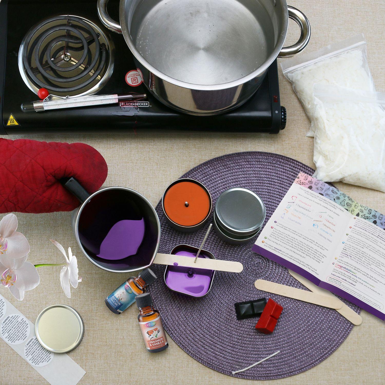 Complete DIY Candle Making Kit Diy candle making kit