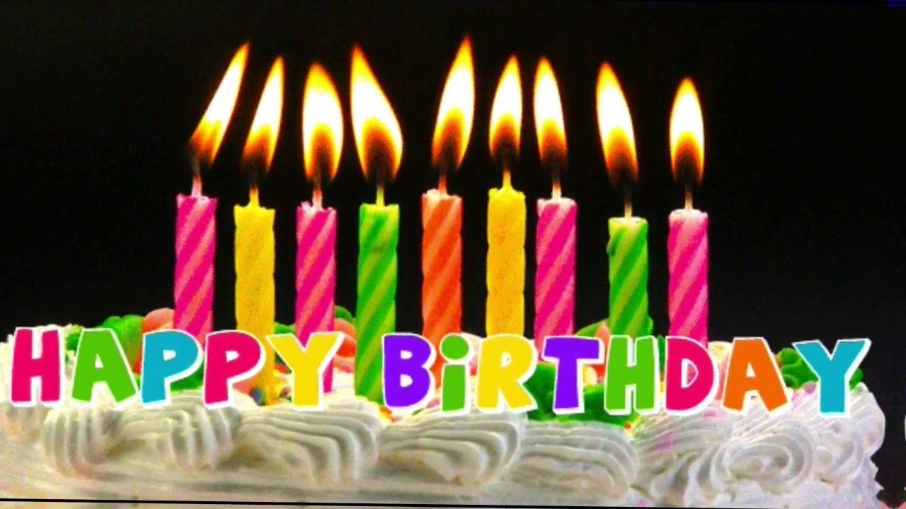 Happy Birthday To You Wishes Messages Happy Birthday Song Happy Birthday Candles Happy Birthday Gif Images Happy Birthday My Brother