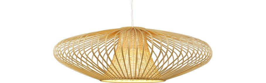 birman abat jour de suspension en bambou diam tre 66 cm my home terrace pinterest. Black Bedroom Furniture Sets. Home Design Ideas