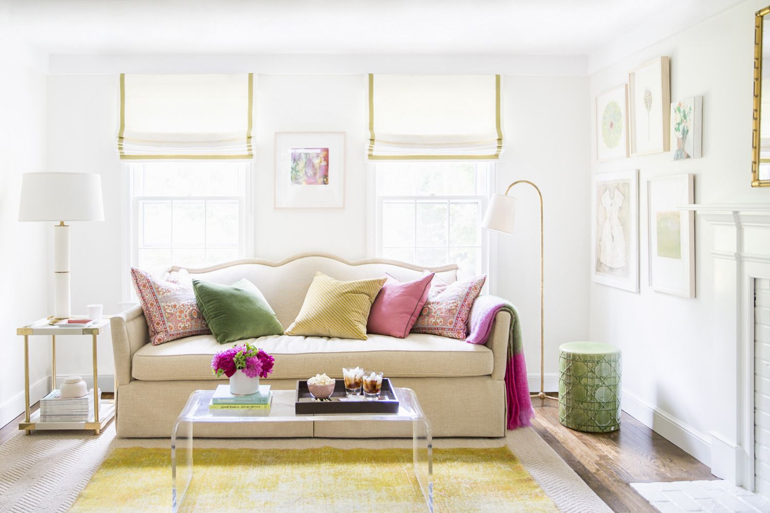 Abby Larson\'s Home Tour + Domino Mag Feature | Colorful family rooms ...
