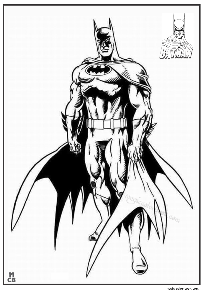 Pin by Magic Color Book on Batman Coloring Pages in 2018 | Pinterest ...
