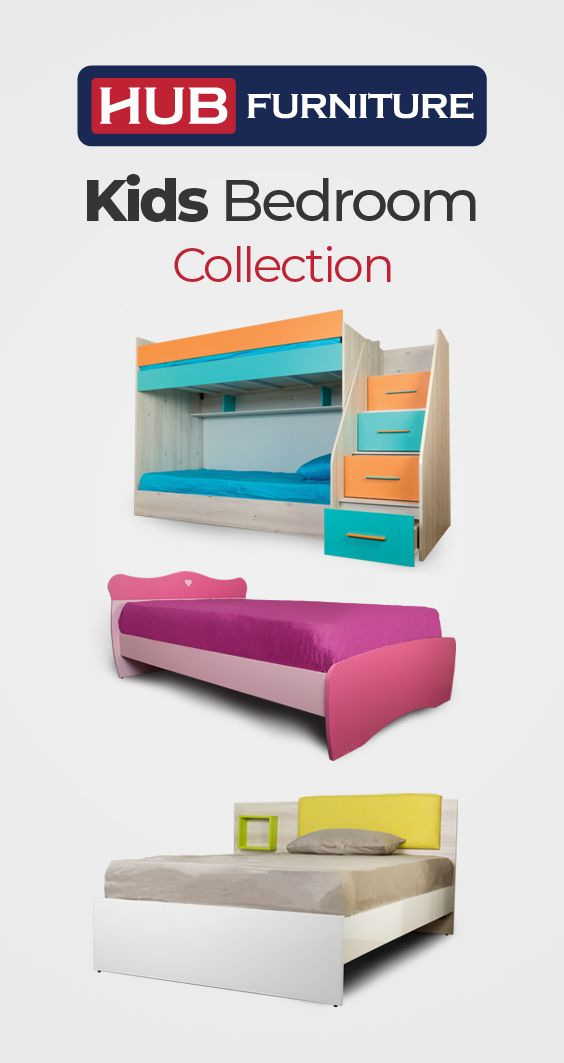 Youth Home Room: Youth & Kids Room Collection From Hub Furniture! #Hub