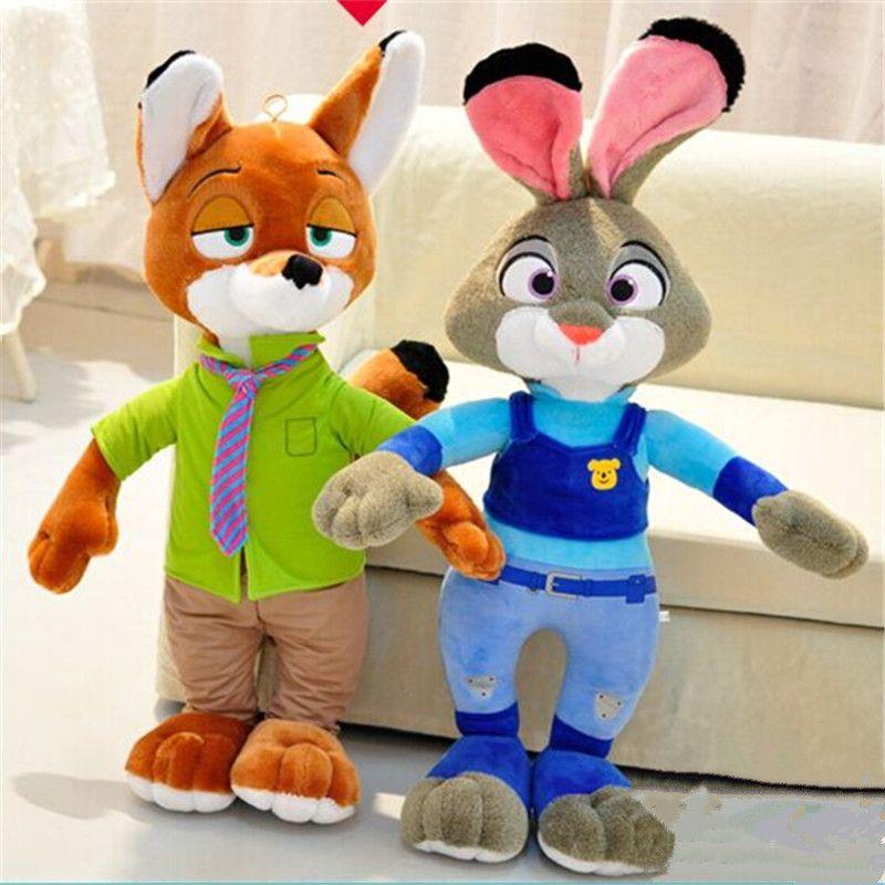 ZOOTOPIA Nick Wilde Judy Hopps Plush Fox Toy Soft Stuffed Doll NEW //Price: $US $19.99 & FREE Shipping //     #toyz24