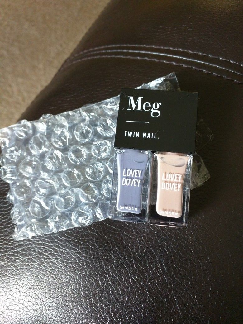 Meg twin nail never used