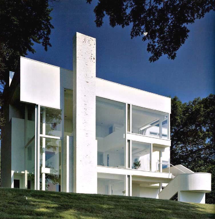 Richard Meier. Darien, Connecticut. 1967