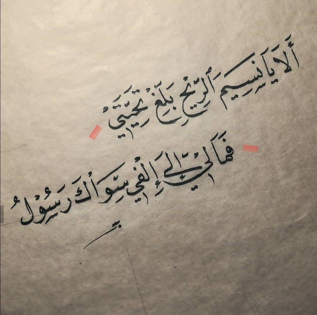 ألا يانسم الريح بلغ تحيتي فما لي إلي الفي سواك رسول منى الشامسي Love Words Love Quotes Arabic Quotes