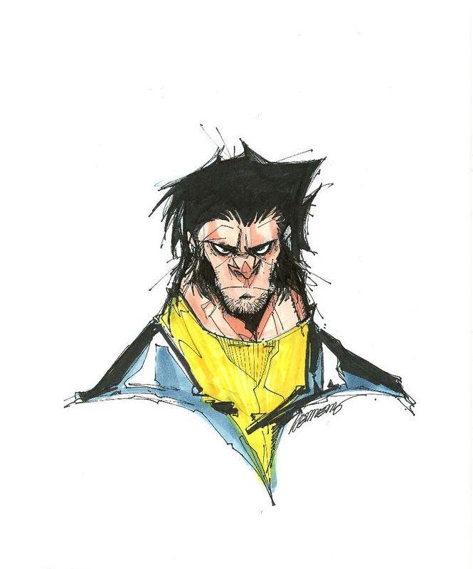 Wolverine by Francisco Herrera