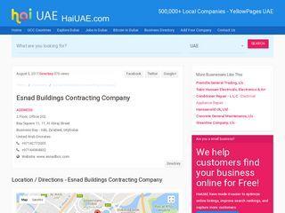 Esnad Buildings Contracting Company Bay Square 11, 11, Al Abraj