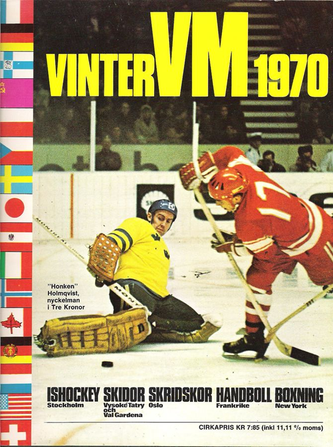 Action from the 1970 World Championships | Mask-less Leif Erik ...