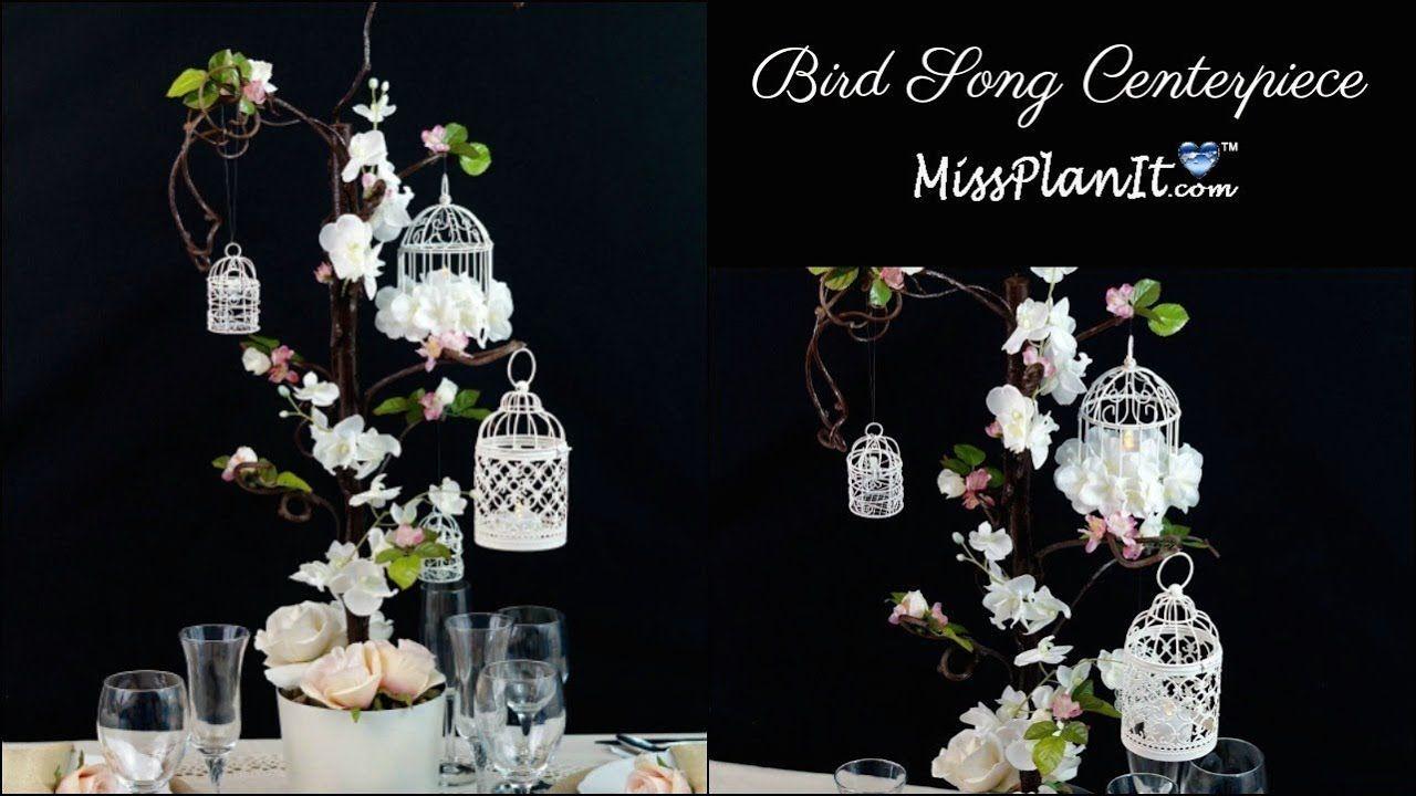 Diy Bird Cage Wedding Or Quinceanera Centerpiece Diy Wedding