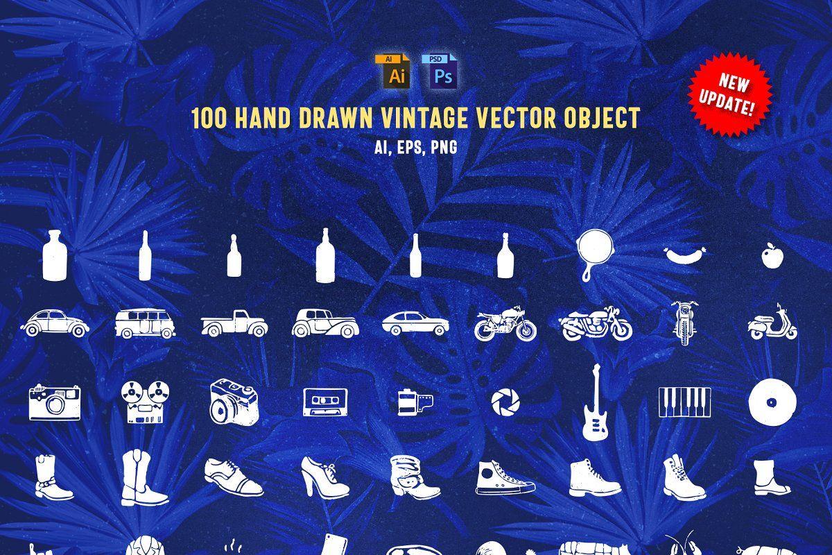 Huge Typographic Pack + 60 Logos ! Hand logo, Monogram