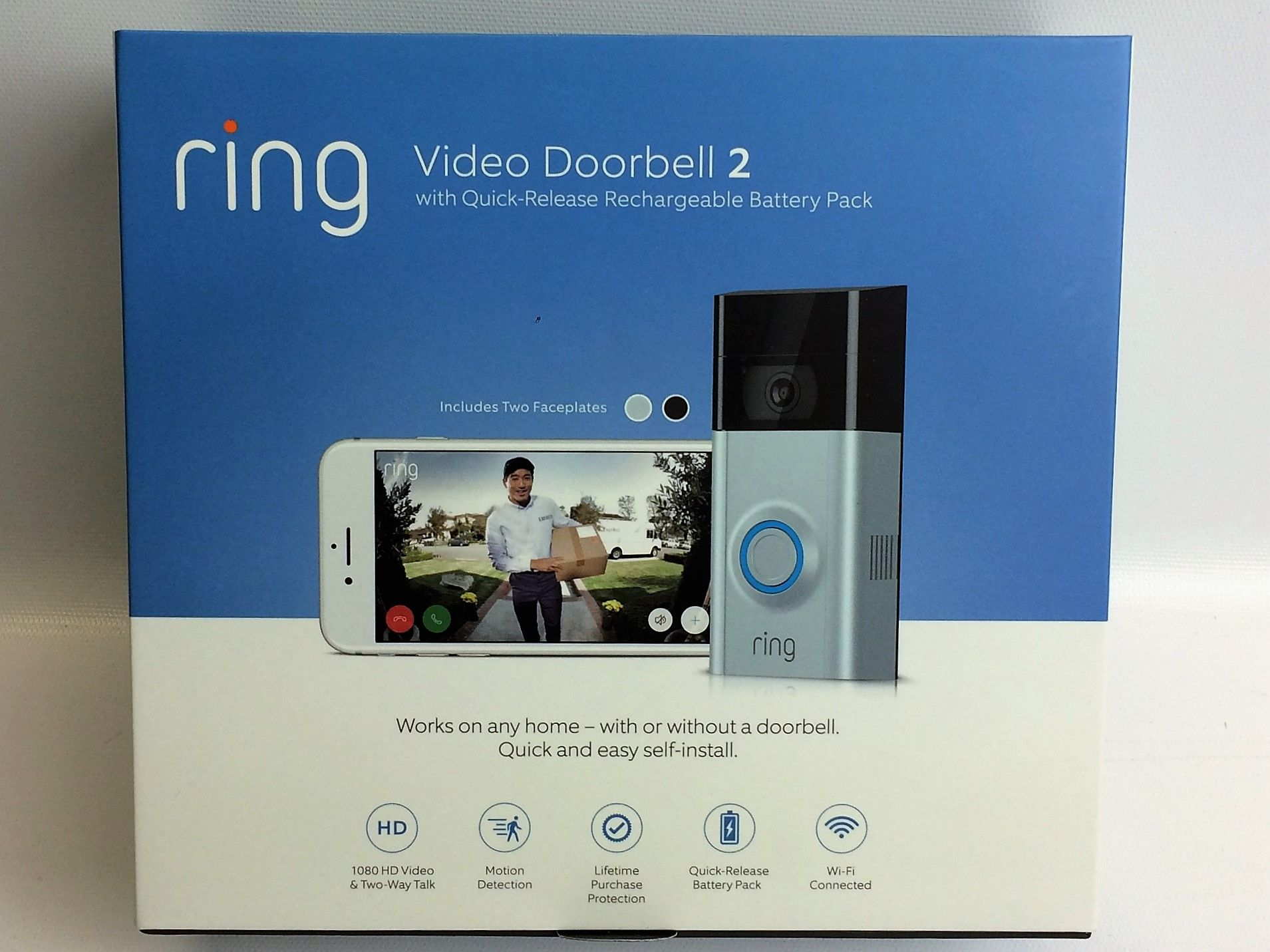 Image result for ring doorbell packaging Ring video