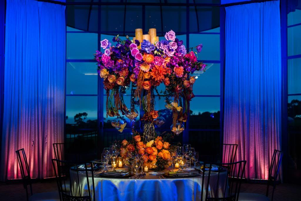 Wedding Reception Decor The Shoot S Purpose Was To Show How Lighting Can Really Enhance