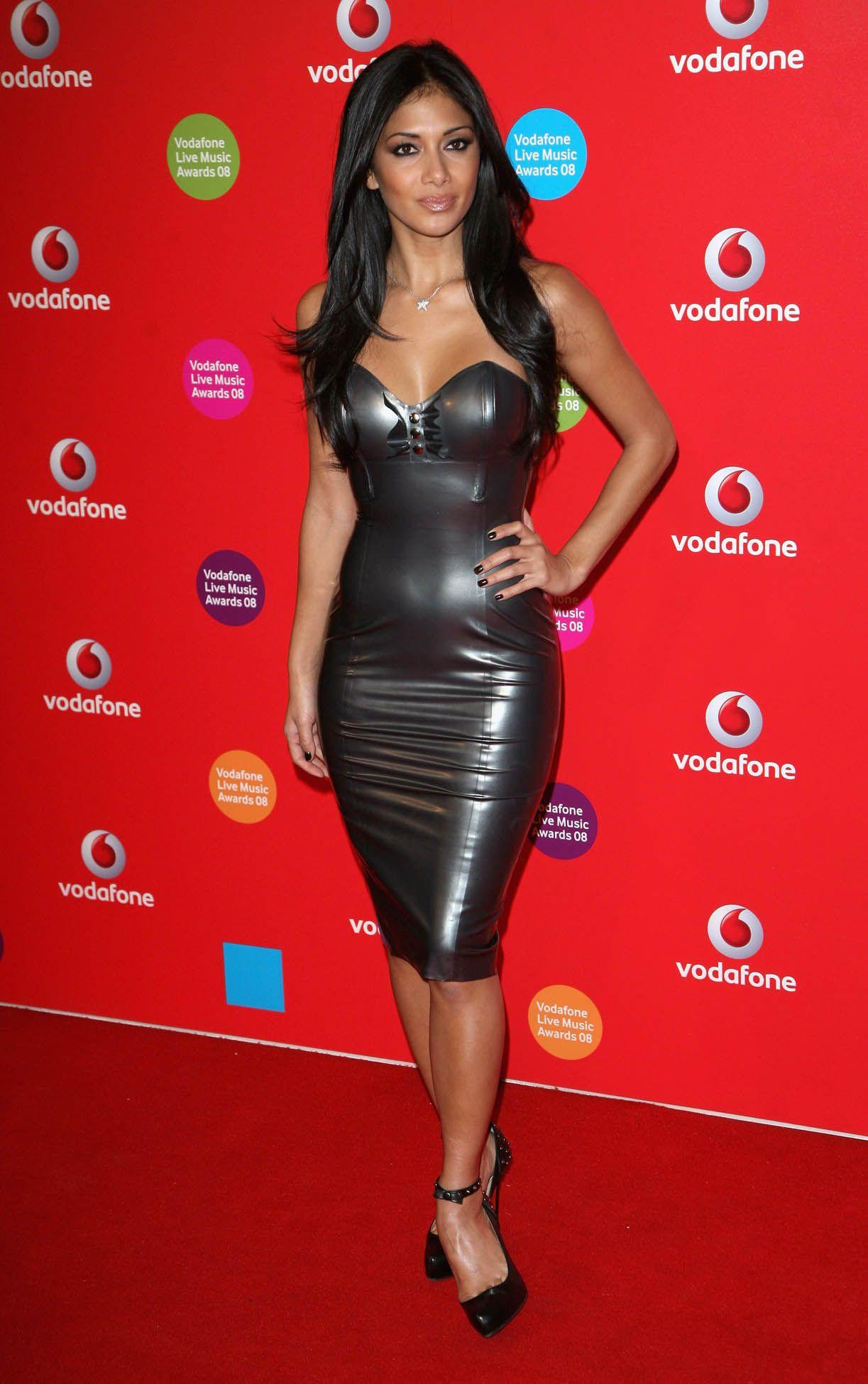 Nicole Wearing A Latex Dress