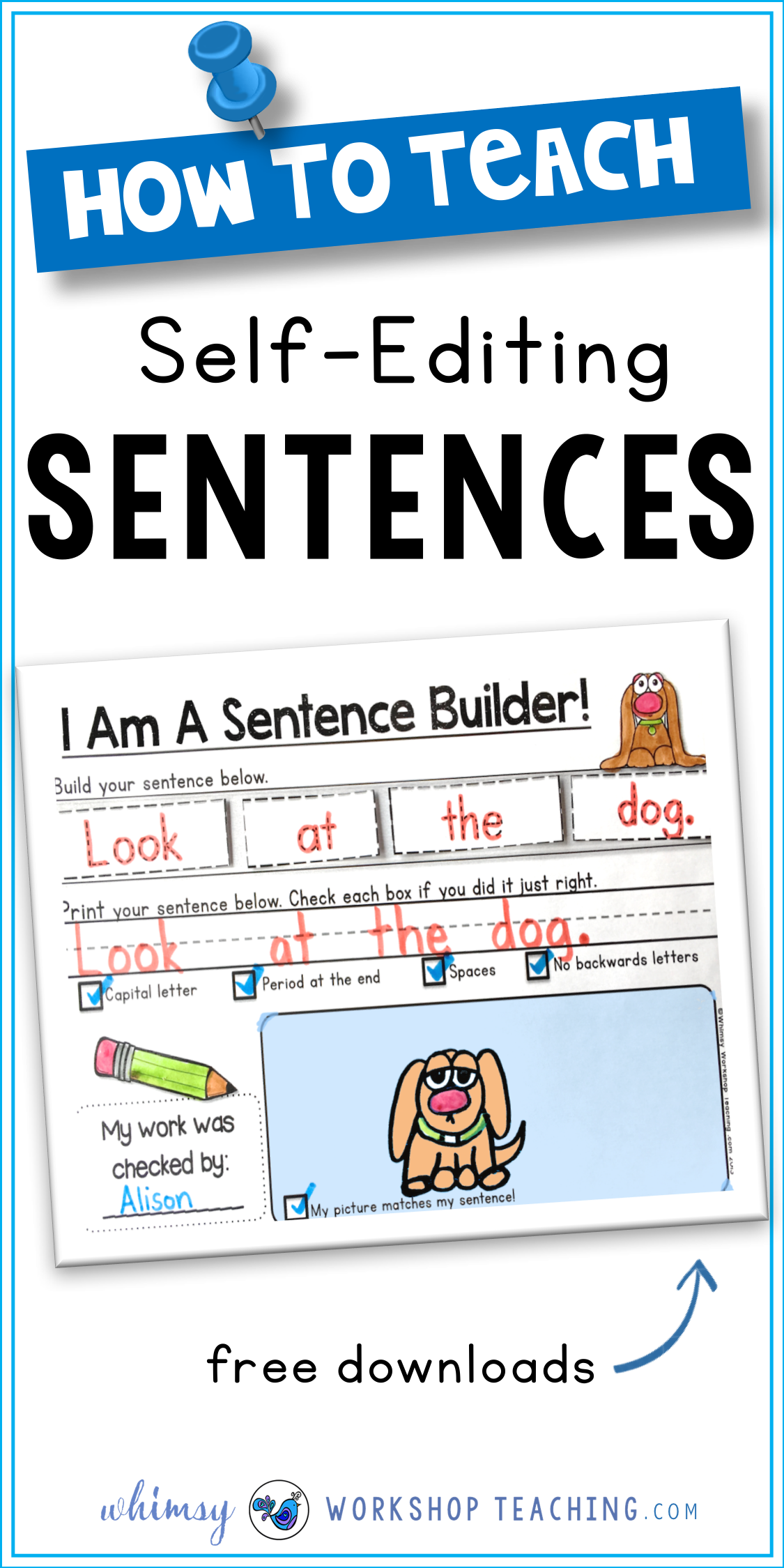 Sentences Building And Self Editing