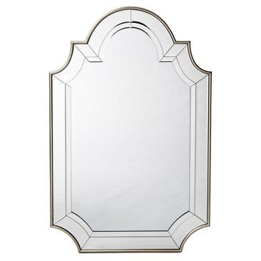 Check out this item at One Kings Lane! Yi Oversize Mirror, Champagne/Clear