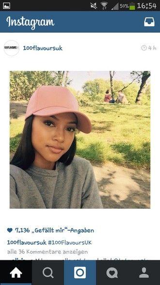 hat snapback cap pink snapback karrueche pink cap urban pastel pink ... cd5872c631c6