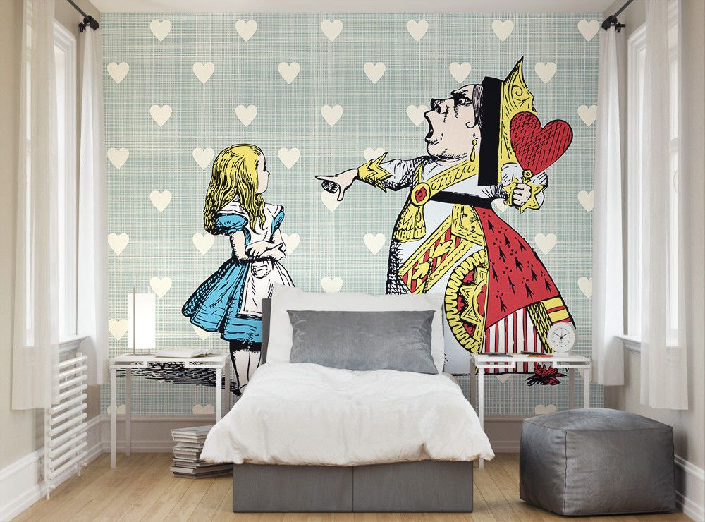 Best Ohpopsi Alice In Wonderland Queen Of Hearts Wallpaper Wall 640 x 480