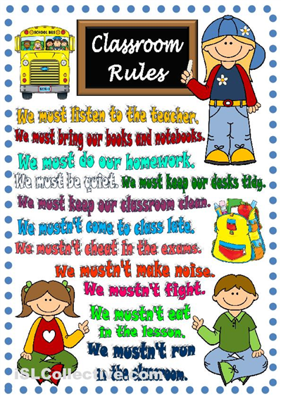 classroom rules poster esl efl in infant and primary school pinterest classroom rules. Black Bedroom Furniture Sets. Home Design Ideas