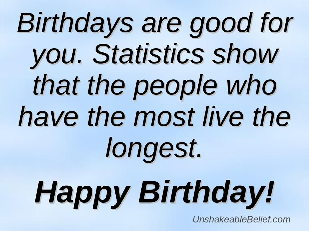 Charmant The Funny Birthday Quotes Are Used So That They Can Encourage A Person.  Description From